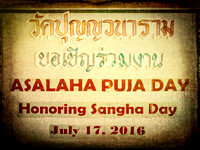 Thai 2016 Asalha Day-1